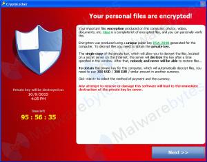 Attaques de type « CryptoLocker »
