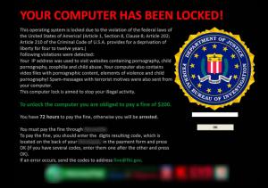 Logiciel malveillant de type ransomware